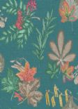 Into The Woods Mulberry Teal Wallpaper 98480 By Holden